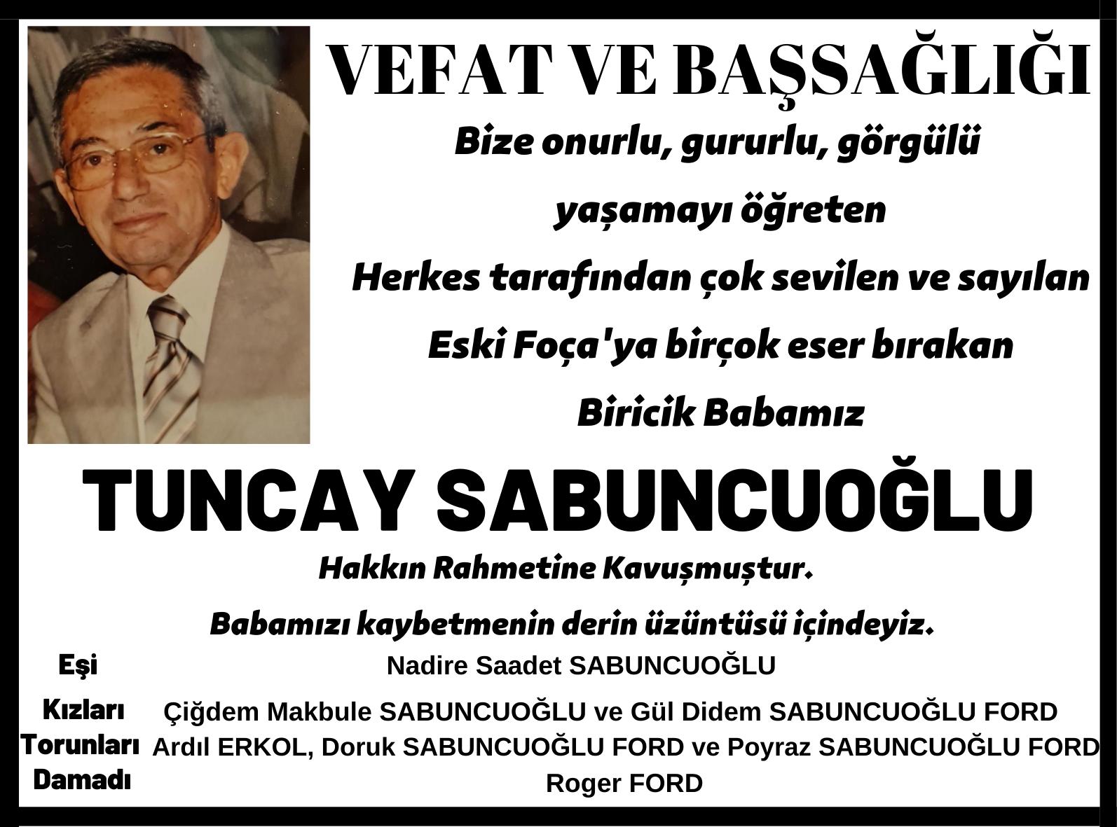 Tuncay Sabuncuoğlu
